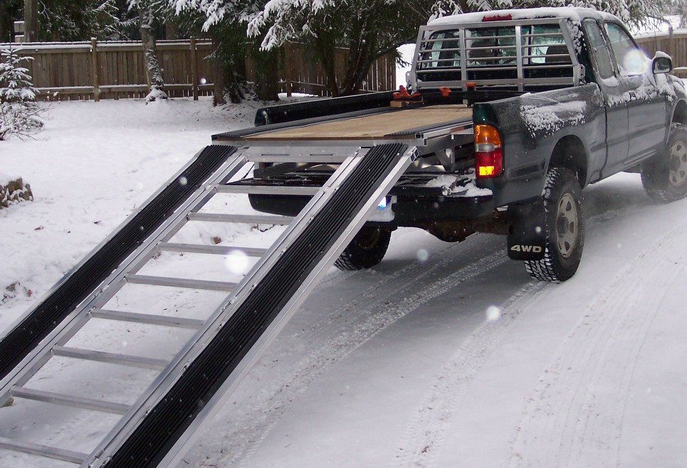 Snowmobile Decks